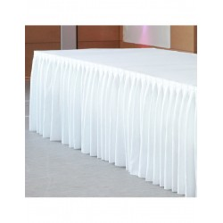 Skirting BUFFET Kellerfalte...