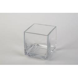 Vase Square Klar 10 x 10 x...