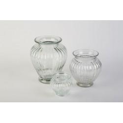 Vase GERIPPT - KLAR D 8 cm...
