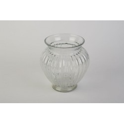 Vase GERIPPT - KLAR D 12 cm...